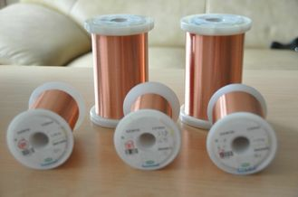China 0.011 - 0.8 Mm Magnet Wire UEW155 Insulation Solid Conductor For Ignition Coils factory