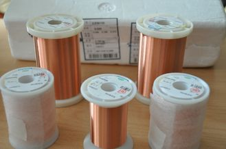 China Transformer Polyurethane Enameled Copper Wire NEMA Solderable 155 / 180 UEW Superfine Wire factory
