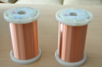 China AWG 32 - 56 Polyurethane Enameled Copper Wire Solderable Magnet Wire At Low Temperature factory