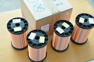 China 0.012 - 0.4mm Ultra Fine Copper Wire , Polyurane Insulated Magnet Wire factory