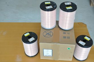 China 220℃ Super Thin Copper Magnet Wire 0.012 - 0.8mm UEW / PEW For Computer factory