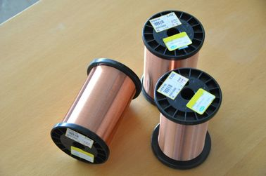 China Polyester Enameled Round Copper Wire Class1 0.1 - 32.Mm With High Heat Resistance factory