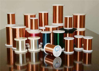 China Class 155 220 Super Fine Transformer Copper Wire With Different Color 0.012 - 0.8mm factory