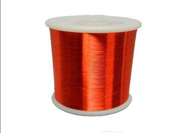 China High Frequency Enamelled Copper Litz Wire , Round 24 - 44 Gauge Copper Wire factory