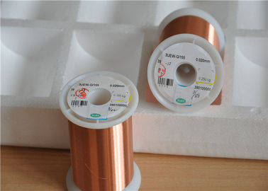 China 0.015mm Ultra Fine Enamelled Coated Copper Wire Magnet Copper Wire UEW Insulation factory