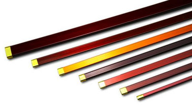 China Rectangular / Flat Copper Wire , Multi Sizes Round Enamel Insulated Wire factory