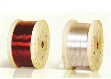 Rectangular Electric Motor Winding Wire , 0.012 - 4.5mm High Temperature Copper Wire