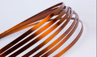 China Super Thin Flat Transformer Copper Wire Solderability 0.8 - 5.6mm High Solvent Resistance factory