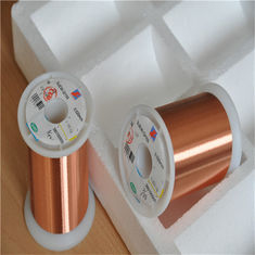 0.012-0.8mm super fine solderable polyurethane Enamelled Copper Wire for Relays / Transformer /Solenoids Coil / Motors