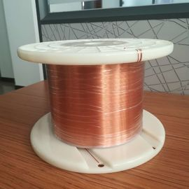 China Enameled Rectangular Copper Wire Class 155 180 220 High Voltage Mylar Wire factory