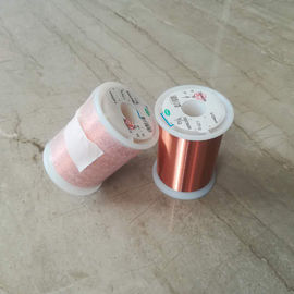 China UEW 155 0.02mm Generator Copper Wire / Solderable Enamelled Copper Wire factory