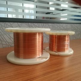 China Class 200 Rectangular Copper Wire Self Bonding Enamelled Copper Wire UL Approved factory