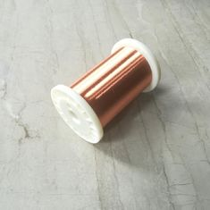 China Normal Size Enameled Round Copper Wire Polyester Coating Good Solderability factory
