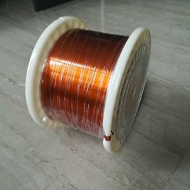China Self Bonding Enamelled Rectangular Copper Wire Class 220 AIW 0.4x4mm factory