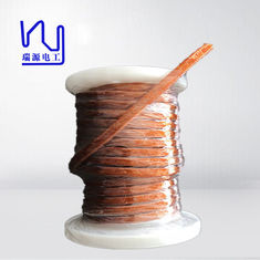 China 0.5 X 2700 PET Covered Profiled Flat Litz Wire For Transformer , High Cut Through factory