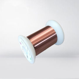 China UEW Insulated Enameled Copper Magnet Wire 0.012 - 0.8mm For Magnetic Heads factory