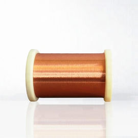 China 2UEW 0.018 - 0.8mm Different Colors Enamelled Copper Winding Wire Super Fine Magnet Wire For Motors factory