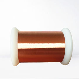 China 0.012 - 0.4mm Ultra Fine Enameled Copper Wire Polyurane Insulated Magnet Copper Wire factory