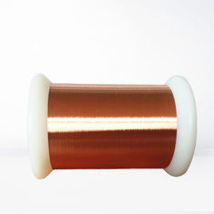 China Insulated Ultra Thin Copper Wire Solderability For High Frequency Coils factory