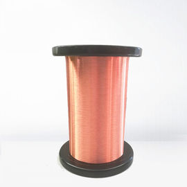 China Awg 48 G1 Class 155 Ultra Fine Copper Wire Enamel / Copper Magnet Wire With Iec Standard factory