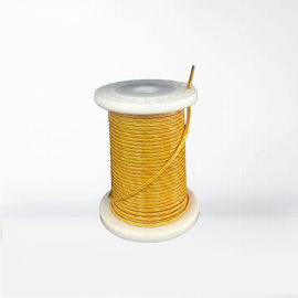 0.5 X 2700 PET Covered Profiled Flat High Frequency Litz Wire For Transformer High Cut Through