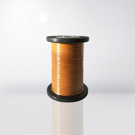 Self Bonding Winding Wire Triple Insulated Wire Yellow Color 0.75mm Direct Solderability