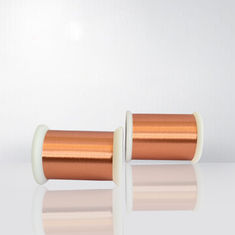 High Frequency 0.012mm Ultra Fine Enameled Copper Wire Polyester Imide Solderable Magnet Wire
