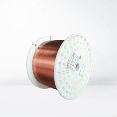 China 0.155-7.5mm Ultra Fine Rectangular Enameled Copper Wire Self Bonding Wire For Small Generator factory