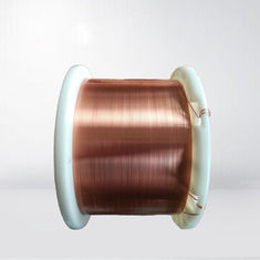 China 0.7 * 2.0mm Class 220 Flat Enameled Copper Wire Self Bonding Magnet Wire For Transformer factory