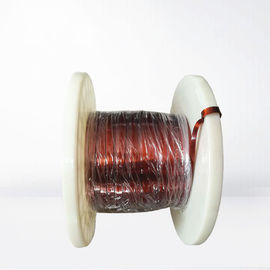 China Class 220 Thickness 0.02 - 1.5mm Rectangular Copper Wire Enameled Flat Self Bonding Wire For Transformer factory
