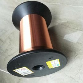 Thin Round 0.012-0.08mm Ultra Thin Enameled Copper Wire Solid Conductor Type