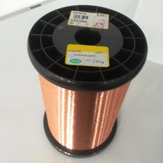 China Solderable Coils / Relays Self Bonding Enameled Copper Wire Polyurethane Insulation factory