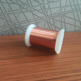 China Awg 54 0.016mm Super Thin Self Bonding Enamel Copper Wire Soderable Magnet Wire factory