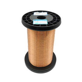 China good quality Uew Class 155 Awg 38 Enameled Copper Wire Solderable Magnet winding Wire for transformer on sales