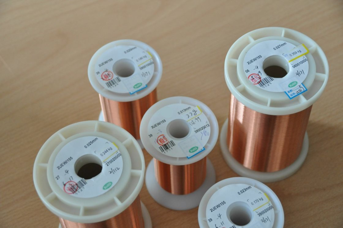 Original 0.012 - 0.8mm Ultra Fine Copper Wire Good Conductivity For ...
