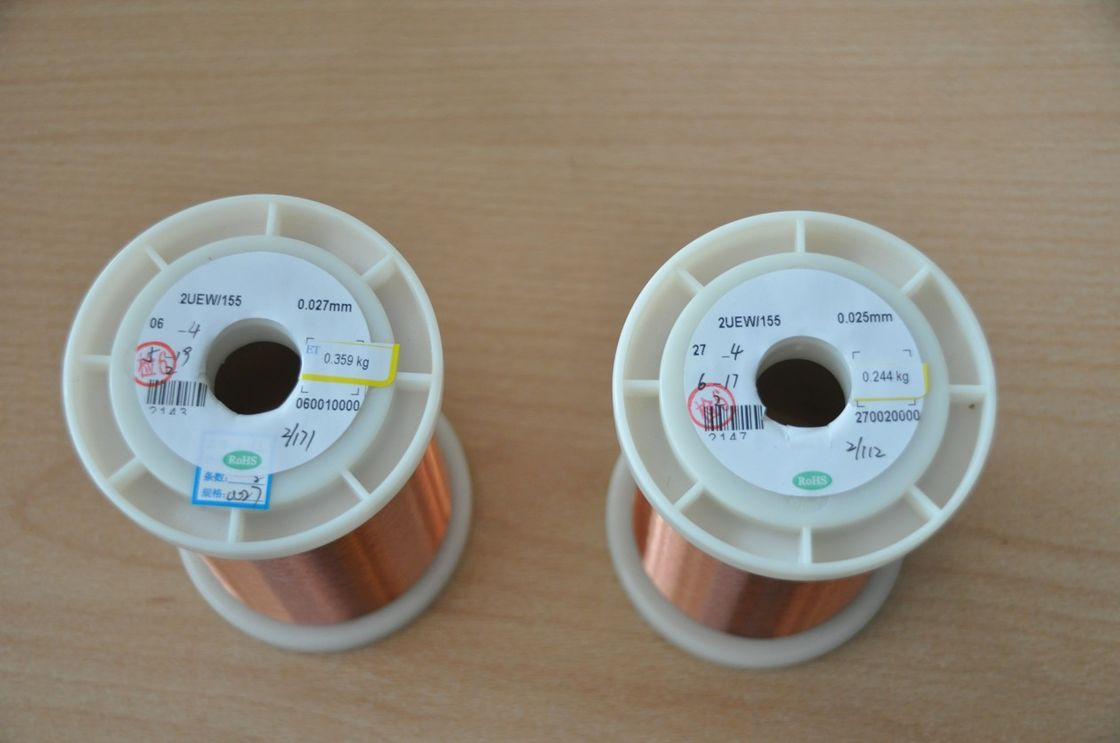 0.012mm Enamelled Transformer Copper Wire Good Conductivity For ...