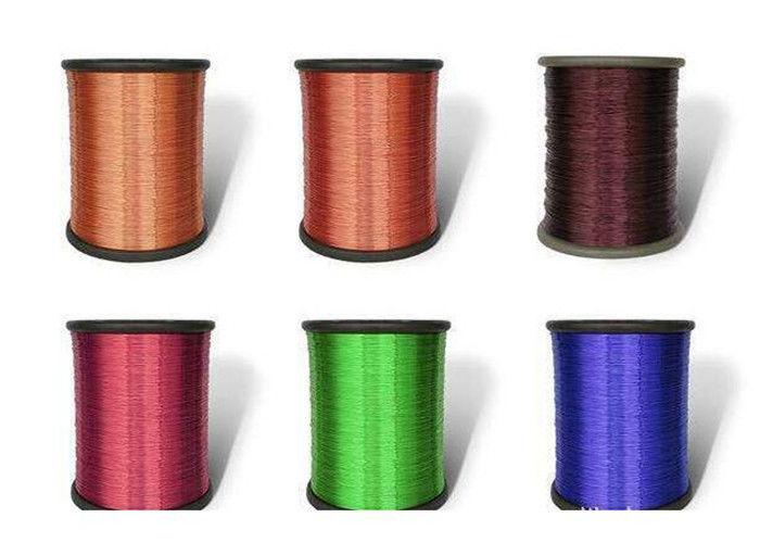 Round Colored Copper Wire Self Bonding Adhesive Polyurethane ...
