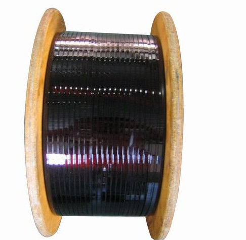 High Flexibility Enameled Square Copper Wire , Rectangular Copper ...