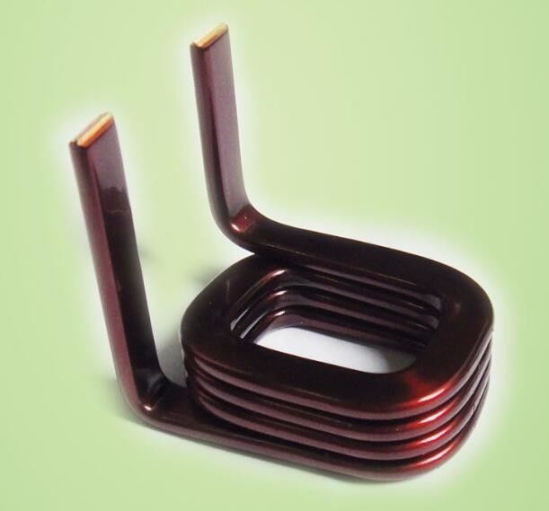 Self Bonding Fine Rectangular Copper Wire Enamelled Copper Wire For Small Generator supplier