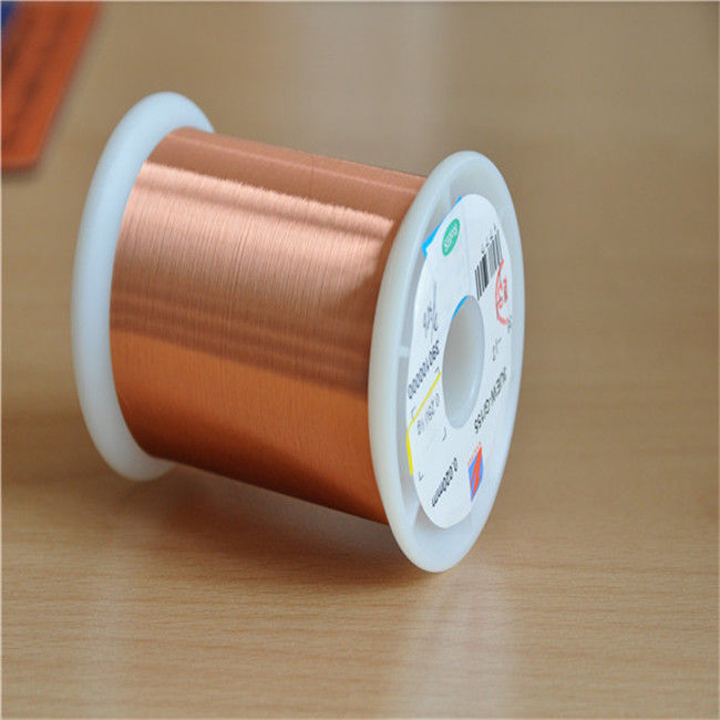 0.02mm Ultra Fine Magnet Wire Ul Certificated Transformer Enamelled Copper Wire supplier