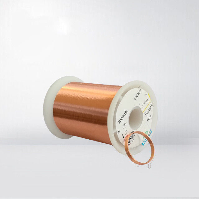 0.012 - 0.8mm Solderable Enamelled Copper Wire With Bonding supplier