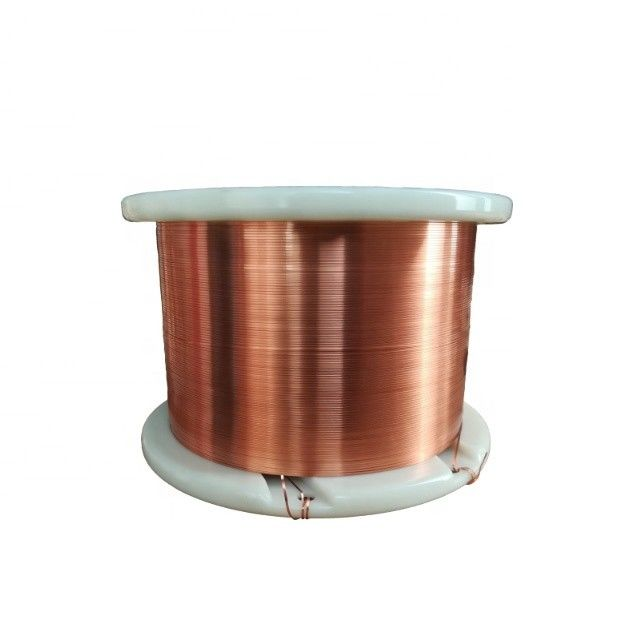 AIW / EIW / UEW 0.012mm Copper Wire Rectangular Enameled Magnet Wire supplier