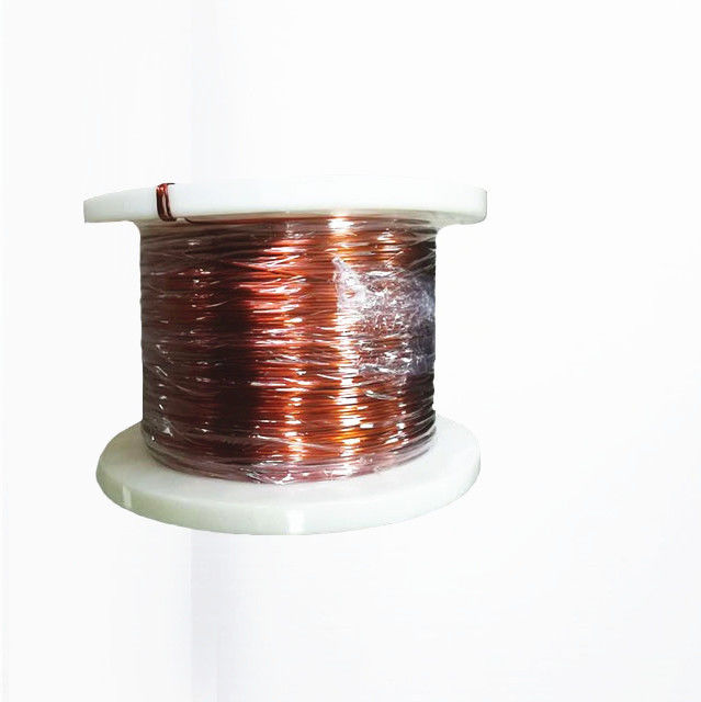 3.5 x 0.35 mm 220 Insulated Rectangular Copper Wire Flat Winding Wire For Heating / Transformer supplier