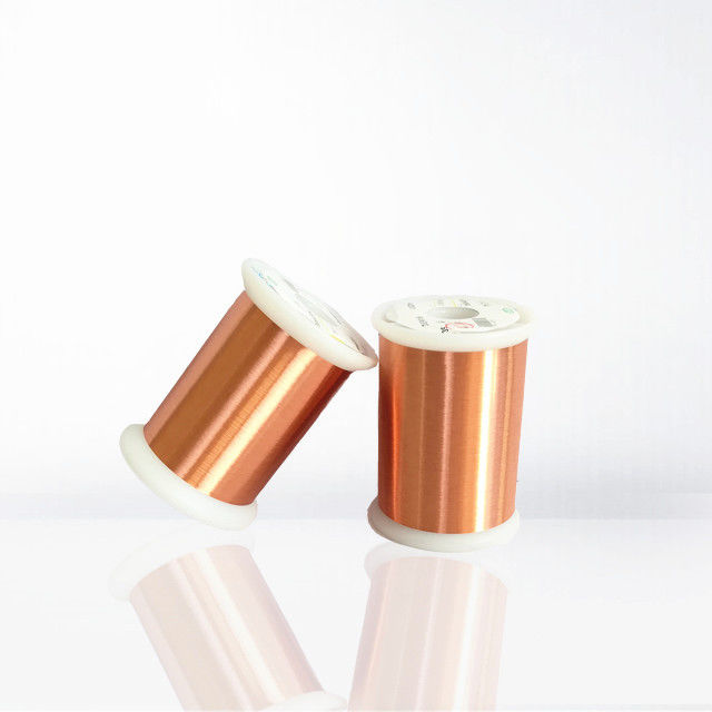 0.012 - 0.05mm Colorful Ultra Thin Copper Wire , Awg56-24 Solderable Magnet Wire supplier