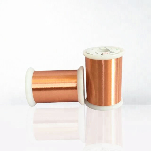 Solderable Enameled Copper Magnet Wire Ultra Fine Enameled Wire For Automotive