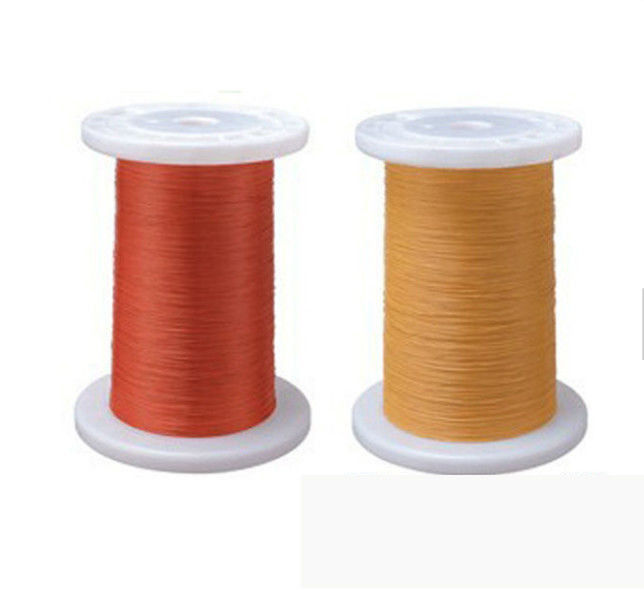 Self Bonding Wire Triple Insulated Copper Wire Size 0.75mm Yellow Color