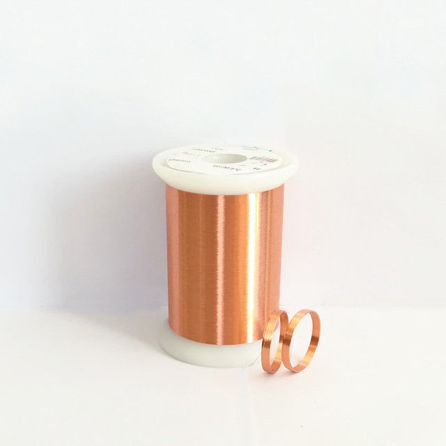 UEW Solderable Enameled Copper Wire / Round Self Bonding Wire