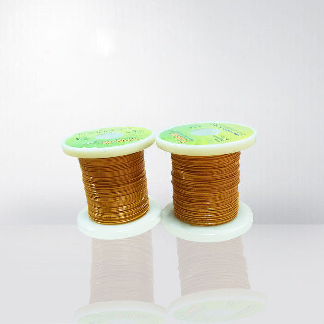 0.10-1.0mm 3 Layers Insulated Copper Wire Self Bonding Triple Insulated Enameled Wire supplier