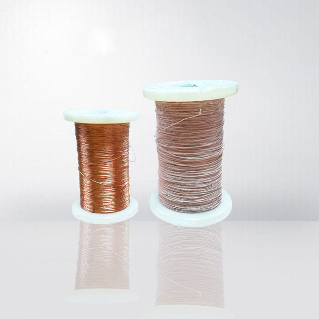 0.1 - 1.0 mm Super Fine Litz Wire Silk Covered Stranding Litz Wire For Inductive Heating