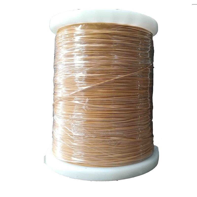 TIW Fine Enamelled Copper Wire PVC Insulation Rust Resistant Excellent Durability supplier